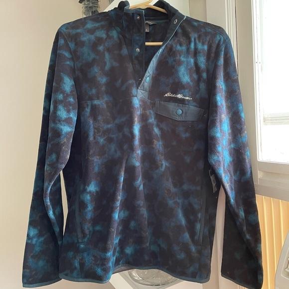 MM - NWT Eddie Bauer retro inspired snap fleece